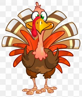 Thanksgiving Turkey Transparent Clip Art Image - Turkey Thanksgiving Dinner Clip Art PNG