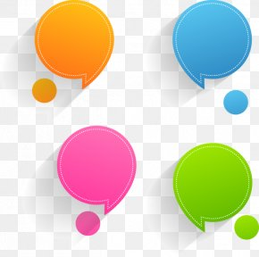 Top Pops - Text Speech Balloon Sticker PNG