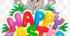 Easter Bunny Cartoon - Easter Bunny Background PNG