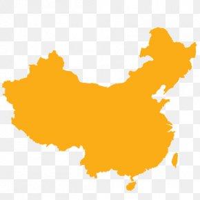 China Tower - Mainland China Vector Map Flag PNG