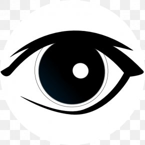 Eyes Outline Cliparts - Eye Animation Cartoon Clip Art PNG