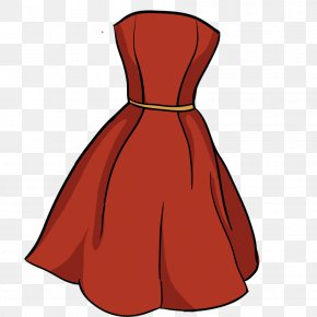 Vector Red Dress Material - Red Euclidean Vector Vecteur Designer PNG