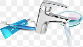 Vector Toothpaste - Euclidean Vector Toothpaste Toothbrush PNG