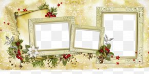 Christmas Border - Picture Frame Christmas Clip Art PNG