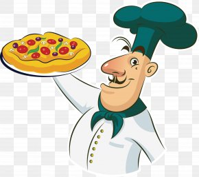 Take The Pizza Chef - Pizza Chef Cooking Clip Art PNG