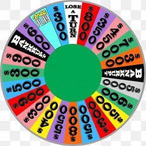 Wheel Of Fortune - Game Show Television Show Wheel PNG