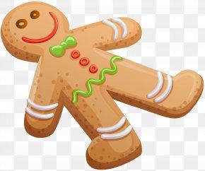 Gingerbread Man Cookie Clip Art Image - Christmas Cookie Gingerbread Man PNG