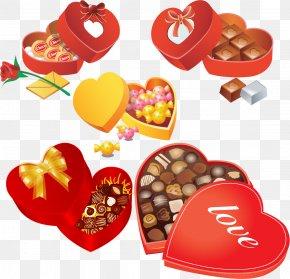Valentine's Day - Dia Dos Namorados Valentine's Day Chocolate Encapsulated PostScript Clip Art PNG