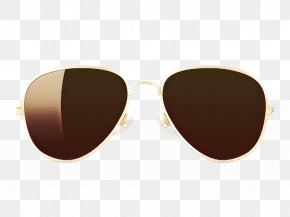 Personal Care Caramel Color - Sunglasses PNG