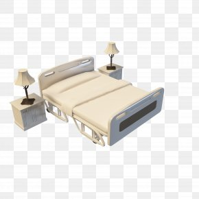 Hospital Beds Picture Material - Hospital Bed 3D Computer Graphics PNG