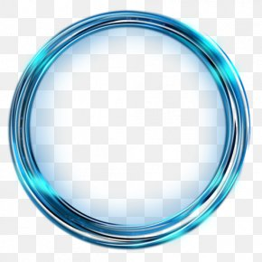 Circle Light - Clip Art Borders And Frames Image Desktop Wallpaper PNG