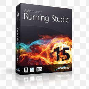 Products Album Cover - Ashampoo Burning Studio Computer Software Product Key Software Cracking PNG
