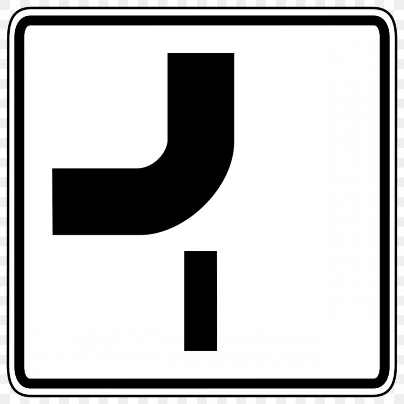 Traffic Sign Arrow Hak Utama Pada Persimpangan, PNG, 1280x1280px, Traffic Sign, Area, Black, Black And White, Brand Download Free