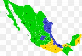 Mexico - United States Administrative Divisions Of Mexico Mexican General Election, 2012 Map PNG