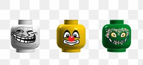 Jeepers Creepers - Clown Face Internet Troll LEGO Product Design PNG