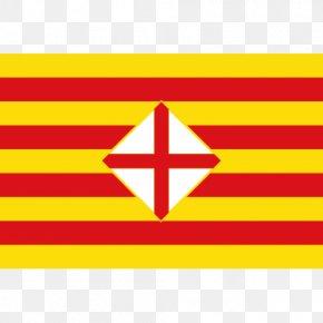 Flag - Province Of Barcelona Flag Of Barcelona Province Of Toledo Provinces Of Spain PNG