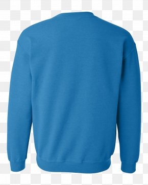 T-shirt - T-shirt Sleeve Blue Crew Neck Polar Fleece PNG