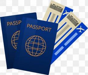 Passport Tickets - Airline Ticket Travel Passport PNG