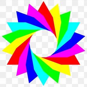 Rainbow - Rainbow Color Circle Clip Art PNG