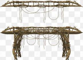 Bridge - Timber Bridge 3D Rendering PNG