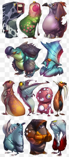 Monster Collection - Monster Concept Art Character Cartoon PNG