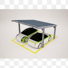 Solar Power - Car Park Photovoltaic System Shelter Solar Energy PNG
