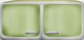 Green Dwarf Cabinet - Designer PNG