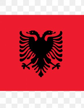 Flag Of Albania - Flag Of Albania Stock Photography National Flag PNG