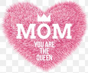 Font Design,Mother's Day - Mother's Day Party Clip Art PNG