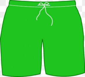 Shorts Cliparts - T-shirt Shorts Swimsuit Trunks Clip Art PNG