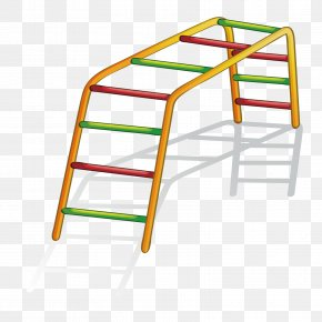 Vector Rainbow Bridge - Jungle Gym Playground Royalty-free Clip Art PNG