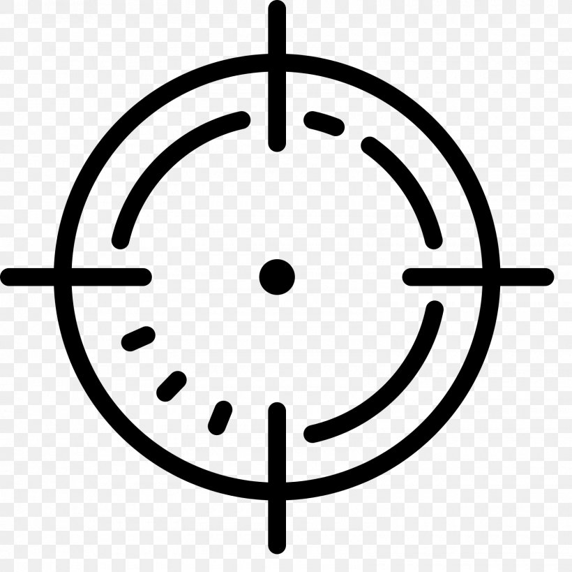 Reticle, PNG, 1600x1600px, Reticle, Black And White, Font Awesome, Symbol, Telescopic Sight Download Free