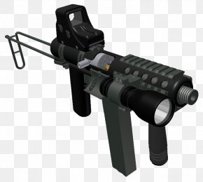 Swat - Firearm Close Quarters Combat Ranged Weapon Machine Gun PNG