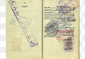 Indian Passport - Indian Passport Travel Visa Allied-occupied Germany PNG