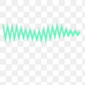 Light Green Sound Wave Vector Material - Light Green Euclidean Vector Wave PNG