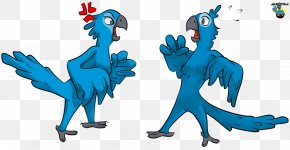 Rio Jewel Cliparts - Angry Birds Rio Blu Illustration PNG