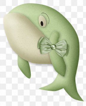 Green Whale - Green Whale Clip Art PNG