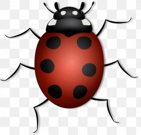 Free Barnyard Clipart - Beetle Ladybird Clip Art PNG