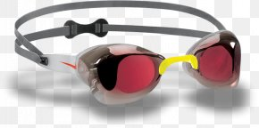 Swimming Goggles - Goggles Speedo One-piece Swimsuit Glasses PNG