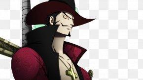 One Piece - Dracule Mihawk Monkey D. Luffy Shanks Roronoa Zoro One Piece PNG