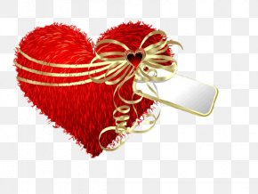 Heart-shaped Valentine's Day Gift Plush Pillow - Heart Valentines Day Gift Clip Art PNG
