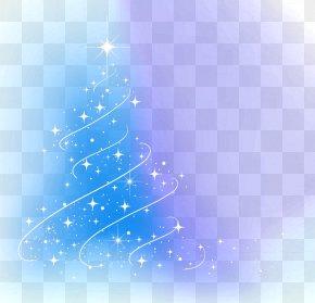Abstract Christmas Tree Light - Christmas Tree Light New Year Christmas Decoration PNG