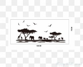 Elephant Room Nursery Child - Wall Decal Mural Sticker Art PNG