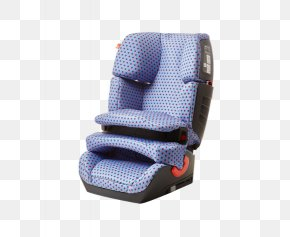 Blue Child Safety Seat - Car Child Safety Seat PNG