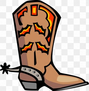 Sleeping Cowboy Cliparts - Cowboy Boot Clip Art PNG