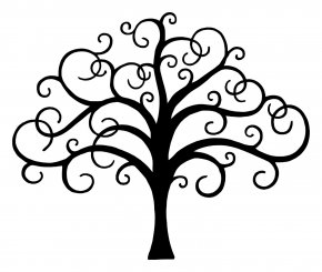 Tree Of Life - Drawing Tree Of Life Line Art Clip Art PNG