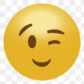 Emoji - Emoji Emoticon Smiley Wink PNG
