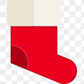 Magenta Carmine - Christmas Stocking PNG