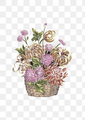 Color Chrysanthemum - Floral Design Download Chrysanthemum Computer File PNG
