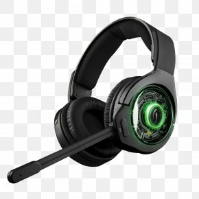 Headphone - Xbox 360 Wireless Headset PlayStation 4 Xbox One Headphones Video Game PNG